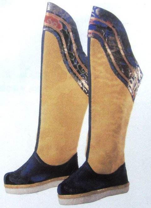 中国传统汉服鞋的历史